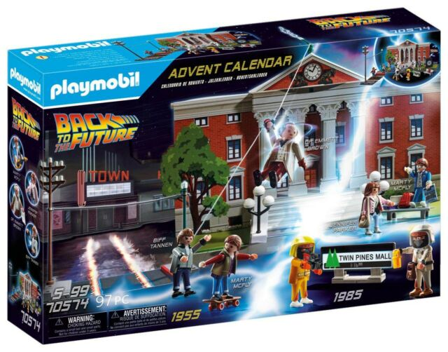 PLAYMOBIL Back to The Future Advent Calendar 97PC 70574