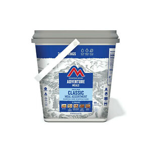 ~Mountain House Classic Bucket Freeze Dried Backpacking Camping Food 24 Servings