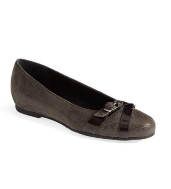 Munro Women's Josie Crosshatch Ballet Flats 9913 Size 8.5N