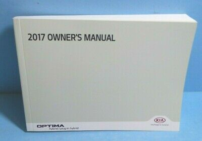 Other Car Manuals 17 2017 Kia Optima owners manual Vehicle Parts ...