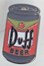 Duff Beer - Simpsons FOX Animated TV Series - Enamel Pin - Homer approved...