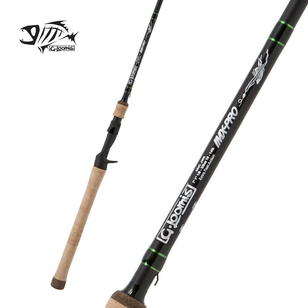 G  Loomis IMX-PRO Casting Rod 854C JWR 7'1  Heavy 1pc  factory outlets
