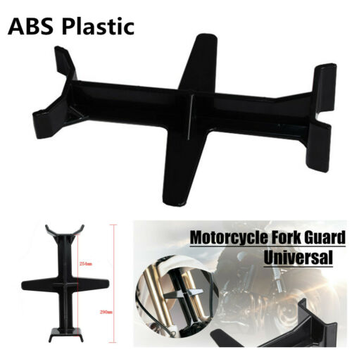 Dirt Bike Plastic Fork Support Guard Transportation Protector Fork Saver Support Brace Motorcycle Accessories-Black