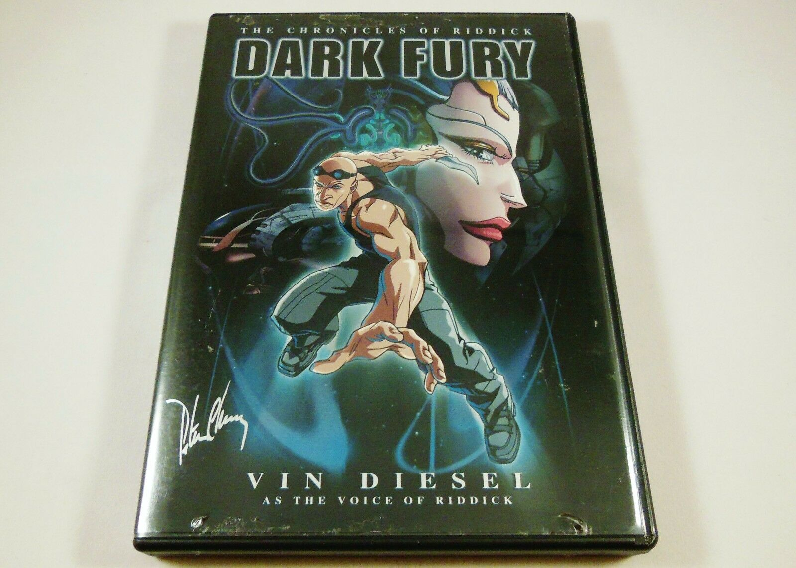 The Chronicles of Riddick - Dark Fury DVD Vin Diesel, Rhiana Griffith