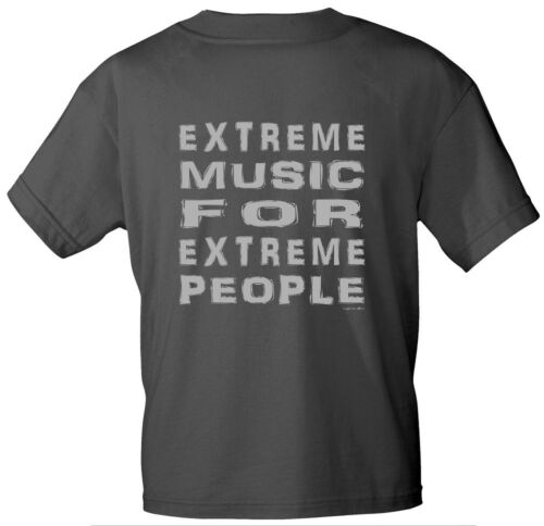 T-Sirt unisex grau grazy Style S-XXL Extreme Music for Extreme People  10304