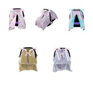 Baby Stroller Pram Car Seat Cover Breathable Muslin Sun Shade Canopy Blanket