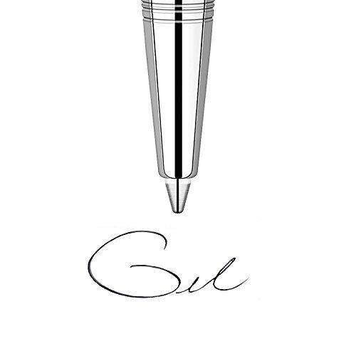 Parker Gel Ball Pen Refill Medium Nib Black Pack of 2