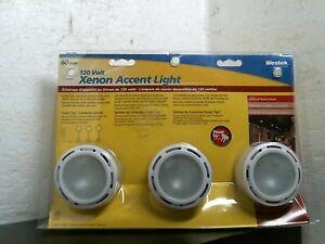 Westek XLV30HC Xenon Accent Light, 3 Lights Per Package