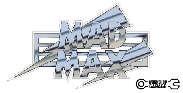 New! Mad Max Movie Retro Novelty Sticker