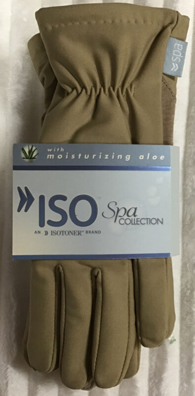 Isotoner Iso Spa Collection Women's Gloves One Size (s-l) Camel Color 2019 Official