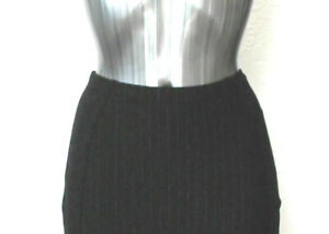 """M/&S Collection Sizes 8-16 Luxury Wool Cashmere Pencil Skirt Bnwt Black 27/""""L"""