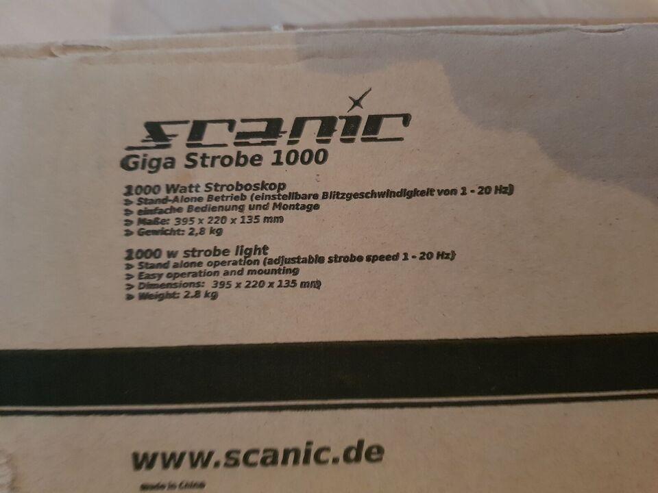 Stroboskop, Scanic Giga Strobe 1000