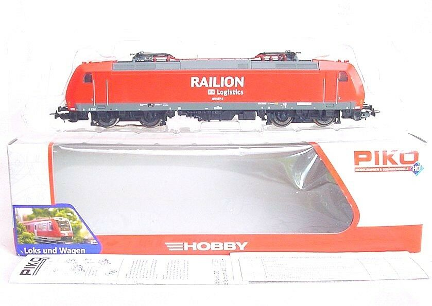 Piko Marklin AC 3-Rail HO 1:87 DB BR 185  RAILION  ELECTRIC LOCOMOTIVE NMIB`95