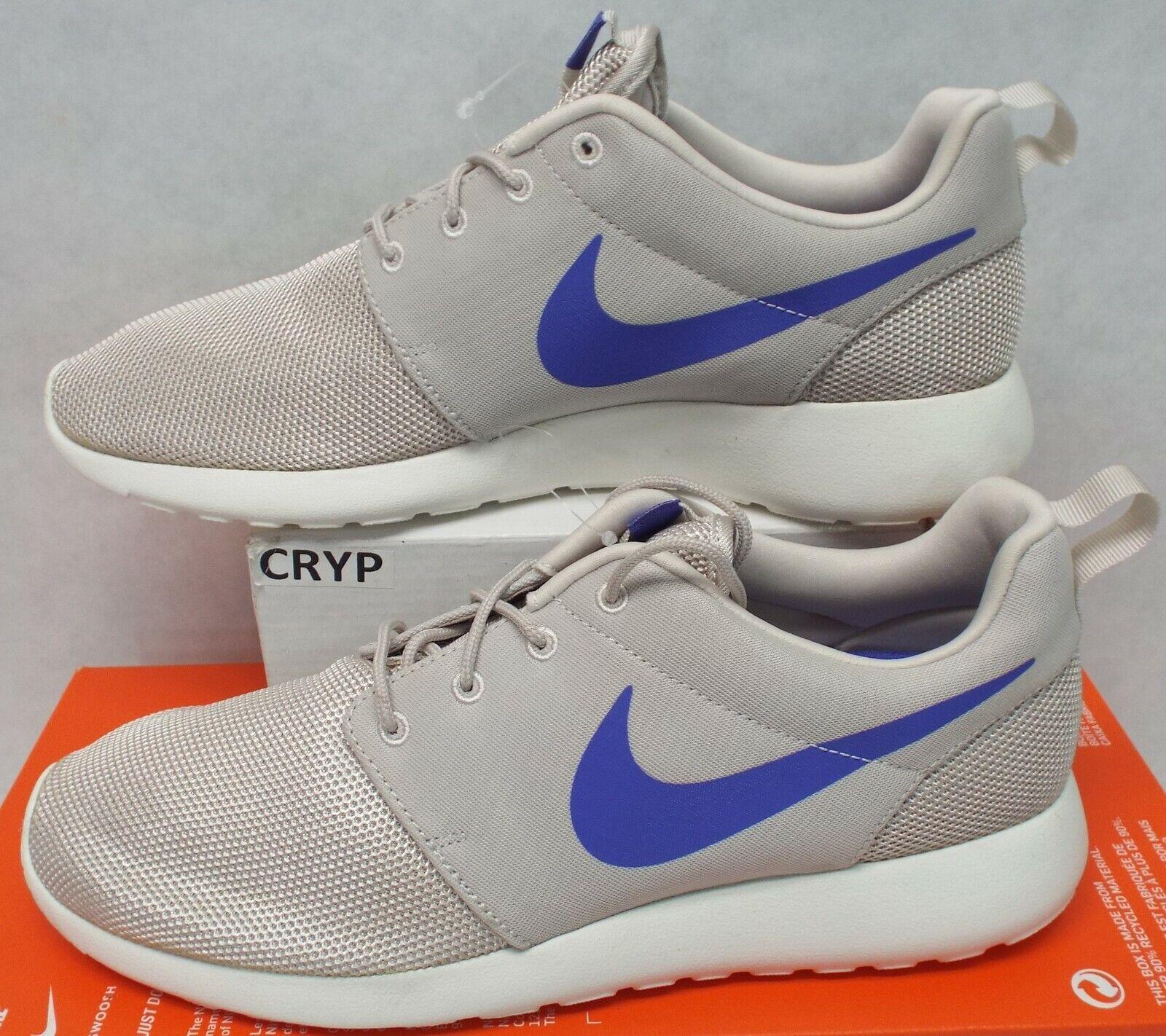RARE SAMPLE New Mens 9 NIKE Roshe One Desert Sail Persian Run shoes 511881-300