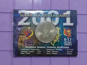 2001-sea-game-coin-card-BU-1pc