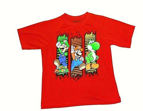 Super Mario Luigi Yoshi  Five Nights at Freddy/'s  Angry Birds Boys T-Shirts  NWT