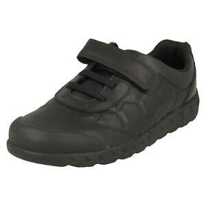 cuero niños Clarks Leader Junior de Zapato Pass para 5w04nZxAxq