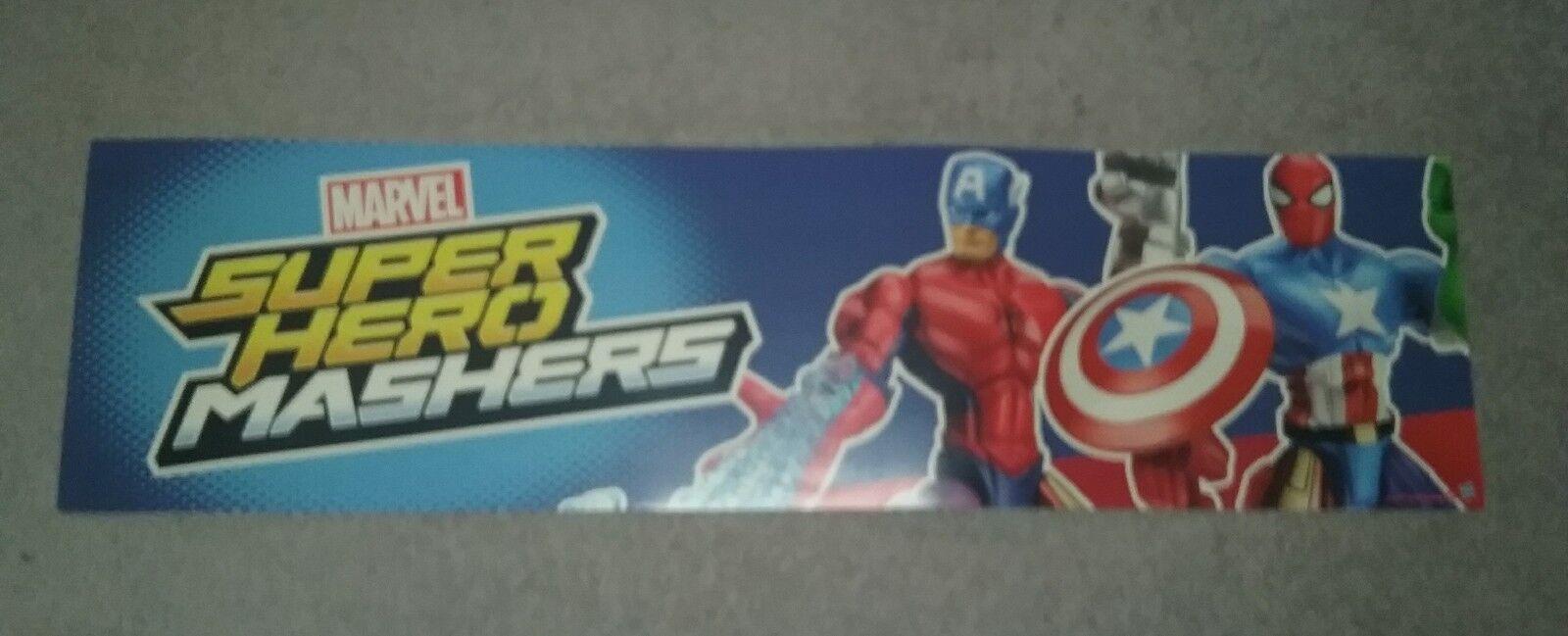 Hasbro Marvel Super Super Super Hero Mashers Store Display d42552