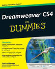 Dreamweaver CS4 for Dummies by Janine Warner (Paperback, 2008)
