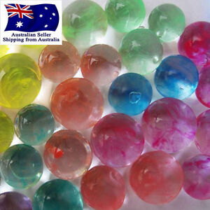 100g 3d crystal soil water balls marble beads for wedding home table image is loading 100g 3d crystal soil water balls marble beads junglespirit Images