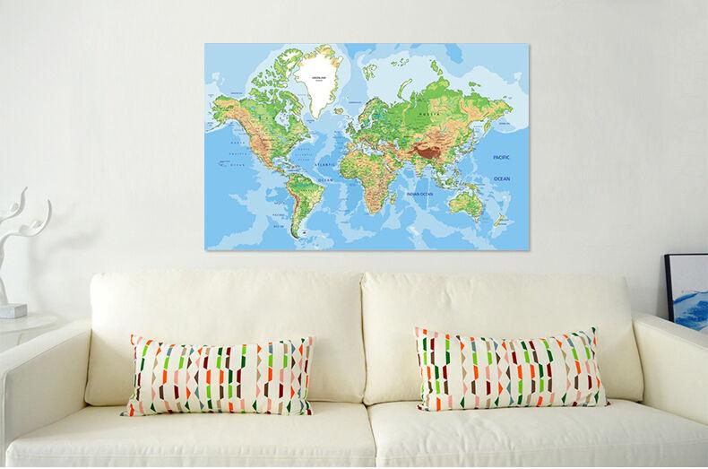 3D Die karte 645 Fototapeten Wandbild BildTapete Familie AJSTORE DE