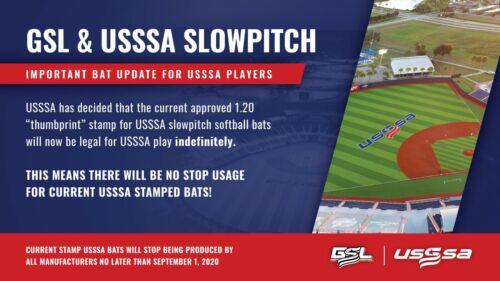 "2019 Miken Psycho USSSA bpf 1.20 34/"" 27 oz softball bat Maxload MPSYCO slowpitch"