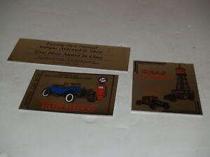 Image Is Loading Lot Of 3 Antique Car Auto Automobile Show