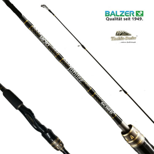 Balzer Jubilee Micro Trout Finesse Perch Seatrout IM-12 Carbon Limited Edition