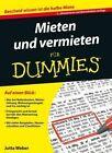 Mieten und Vermieten Fur Dummies by Jutta Weber (Paperback, 2015)
