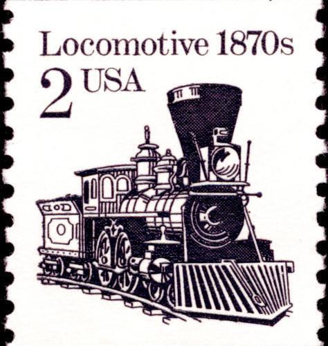 1987 2c Locomotive, Coil Scott 2226 Mint F/VF NH