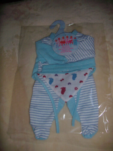 Baby Born z.B Puppenkleidung  Set 3tlg Reborn Baby  40-45 cm