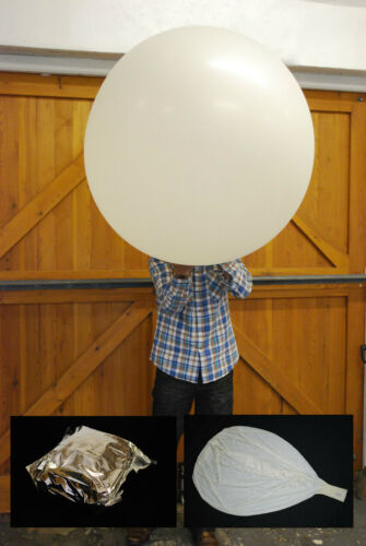 Hoch Altitude Wetter Ballons,Folie Versiegelt /& Parachutes 650g Lager-Ausverkauf