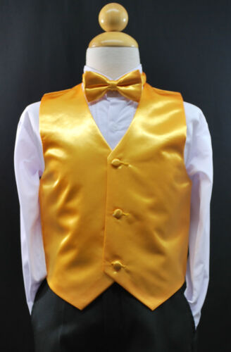 28 BOW TIE Boys Suits /& Tuxedo Size S Baby Boys Toddler /& Kids SILVER VEST