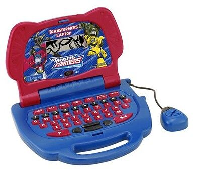 Lexibook Transformers Autobots Laptop Mini Kids Learning Laptop PC Kids Toy