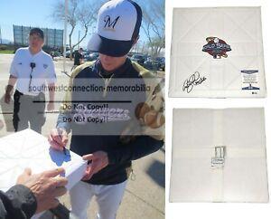 Craig Counsell AZ Diamondbacks Signed Autograph World Series Base Proof Beckett