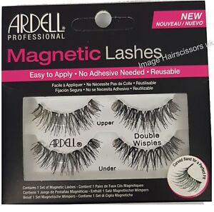 1b27b867d28 Ardell MAGNETIC False Eye Lash DOUBLE WISPIES BLACK Eyelash Reusable ...