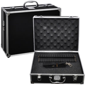 Xit-Hard-sided-Photographic-Equipment-Case-with-Pick-amp-Pluck-Foam-Small-Black