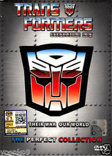 DVD Anime Transformers G1 Complete TV Series 98 End + 1 Movie Season 1-4 Eng Dub