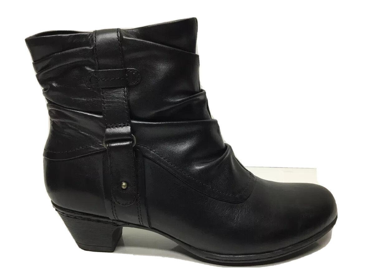 Cobb Hill Women's Alexandra Boots Black Size 6.5M