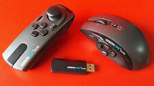 AIMON PS ELITE Wireless Game Mouse and Controller Grip for PS3 and PC Gaming