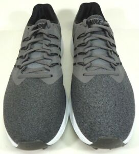 7feaf6a15e27 NEW Men s Nike Run Swift Running Sneakers Gray   White Size 8.5 ...