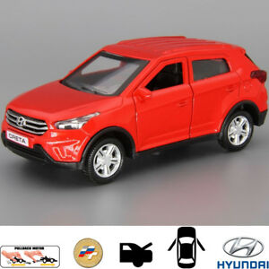 Diecast Metal Model Car Hyundai Creta Red Toy Die Cast Cars 4811159010385 Ebay