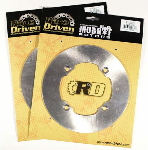 2015 Can-Am Maverick XDS 4x4 1000R Front MudRat Brake Rotors Discs X2