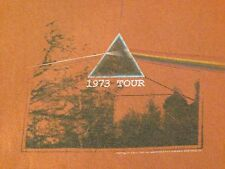 VINTAGE PINK FLOYD 1973 TOUR (PRINTED IN 2007) T SHIRT LARGE
