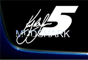 "KYLE LARSON 5 HENDRICK MOTORSPORTS STICKER DECAL VINYL GRAPHICS 5.5 X 8"" NASCAR"