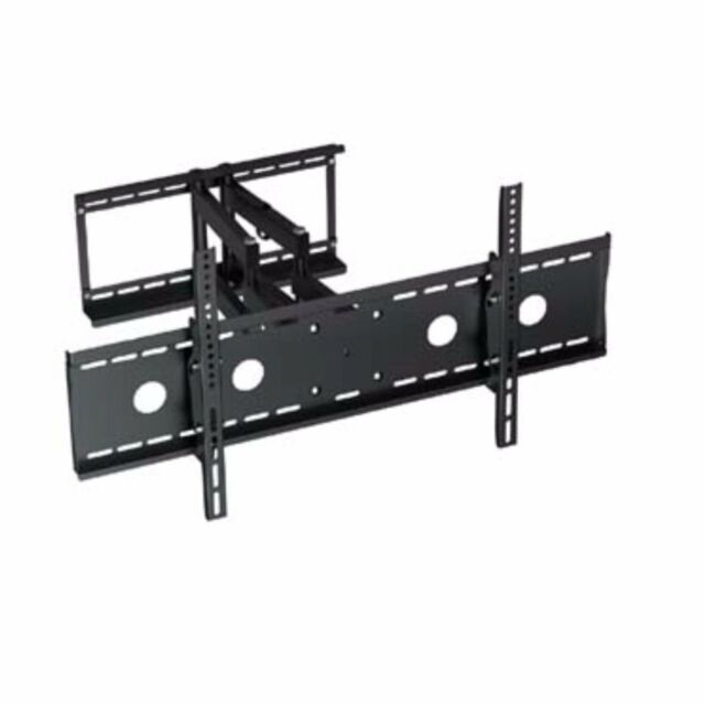Low Profile Slim Design Full Motion LCD LED Plasma TV Wall Mount w/ Lock Feature