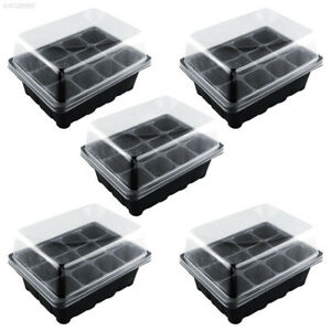 214A New Useful Durable 12 Cells Hole Plant Seeds Grow Box Tray Seeding Case 691409485675