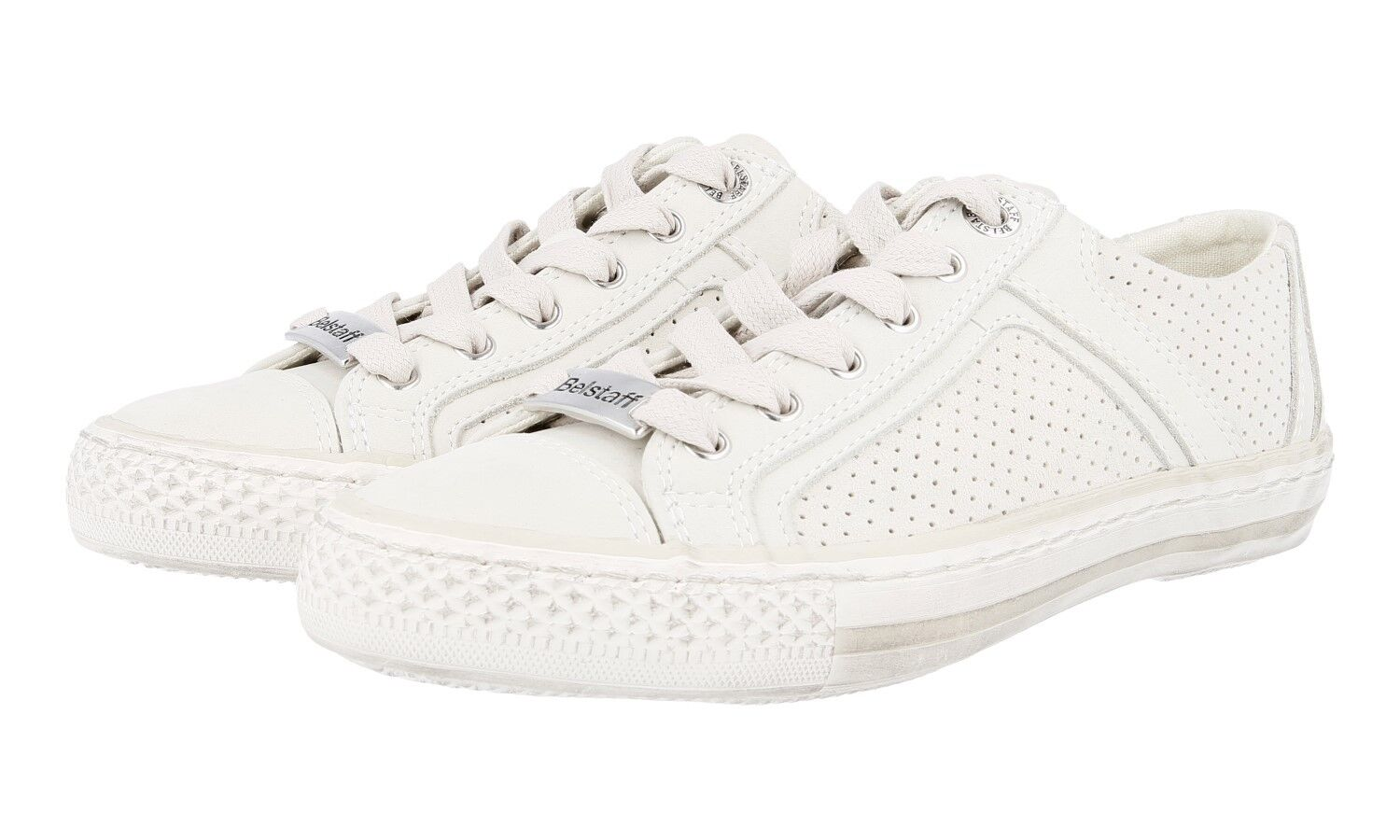 BELSTAFF SNEAKERS SHOES DRAKE 757388 Off White New New 37 37,5