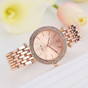 Fashion-Women-Ladies-Crystal-Bracelet-Stainless-Steel-Quartz-Wrist-Watch-Latest
