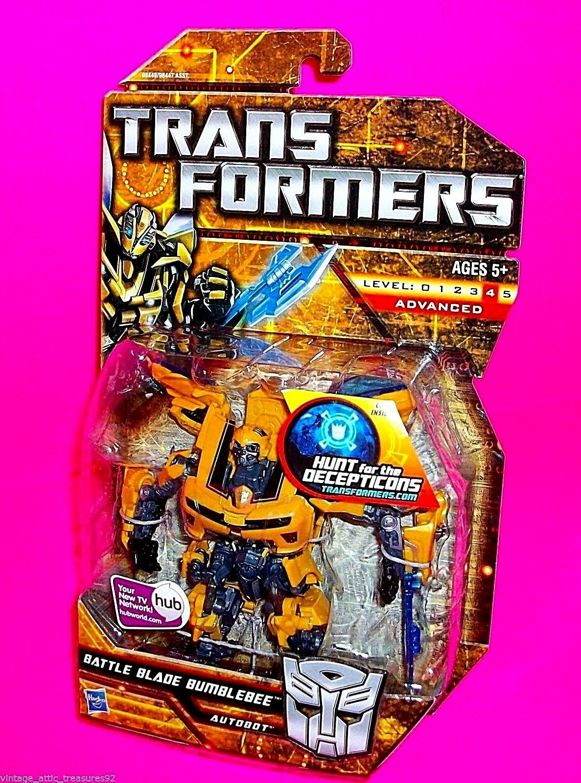 BATTLE BLADE  BUMBLEBEE  TRANSFORMERS HFTD Hunt for the Decepticons Movie Camaro